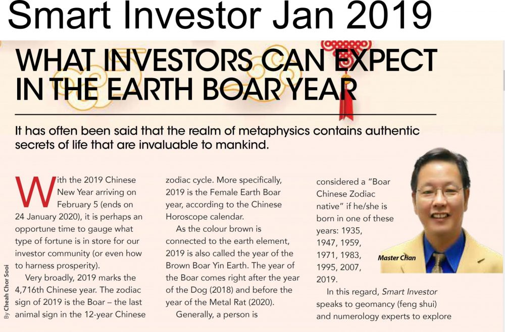 Master Chan Smart Investor review