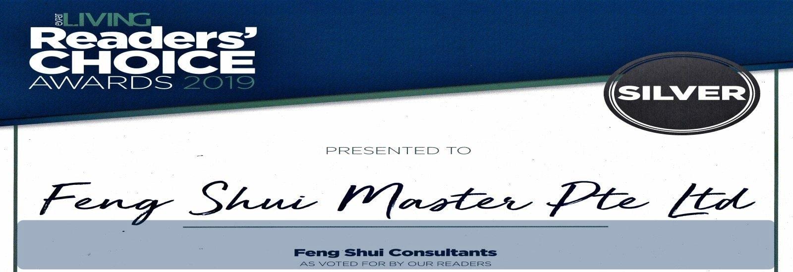 feng shui master silver award